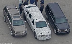 """Hé lộ siêu xe """"Quái thú"""" trị giá 1,5 triệu USD của Tổng thống Trump"""
