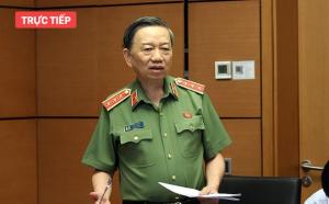 Bộ trưởng Tô Lâm: Chưa thu hồi được tài sản của đối tượng mang theo khi trốn ra nước ngoài