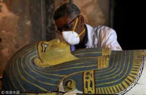 Ai Cập mở nắp quan tài chứa xác ướp người phụ nữ còn nguyên vẹn suốt 3000 năm