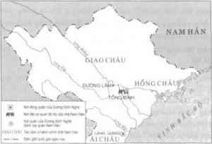 Dương Đình Nghệ vây thành Tống Bình, đánh tan cả quân đô hộ lẫn viện binh từ Nam Hán