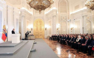 Những con số thú vị về thông điệp liên bang của ông Putin