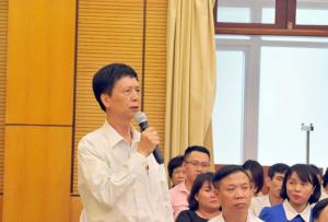 """Chủ tịch Hà Nội: """"Chủ đầu tư toà nhà 8B Lê Trực rất cùn!"""""""