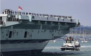 Trung Quốc lớn tiếng cảnh báo Anh đưa tàu sân bay tới Biển Đông